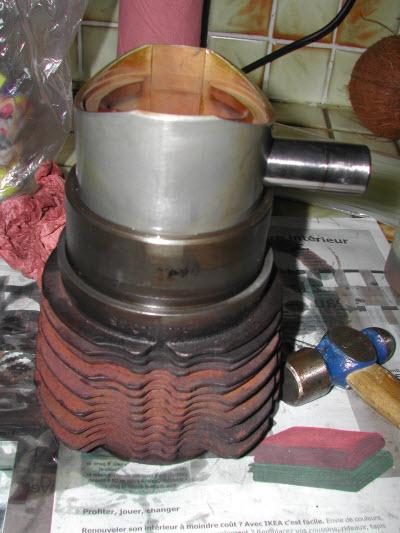 resolu fuite huile moteur entre jauge et reniflard 2cv