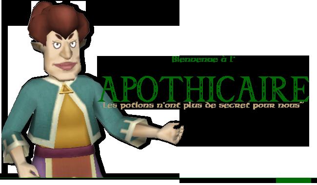 Apothicaire - Elles sont bonnes mes potions~ Apothicaire-3b9a16e