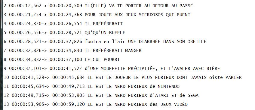 """(Sous-titrage en """"Closed Captions"""" sur Youtube) Ma méthode de sous titrage  Tuto7-3abe2b7"""
